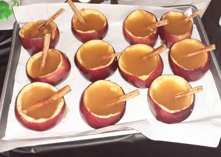 Cinnamon Apple Cider Cups