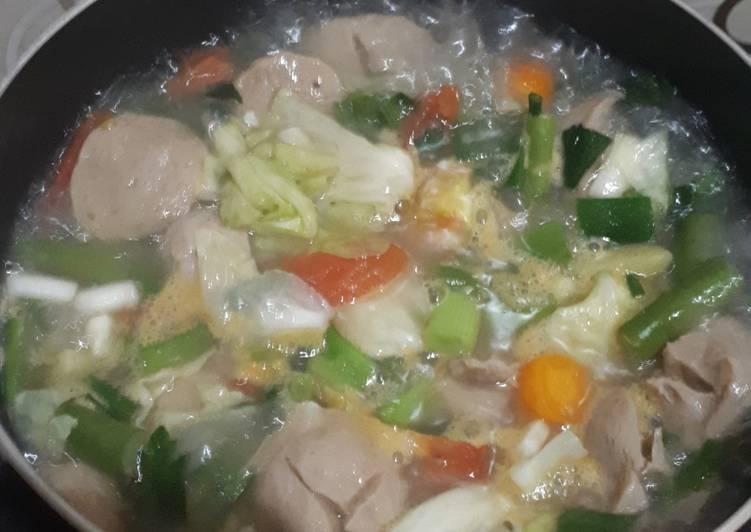 Resep Sop sayur sederhana dan sehat Yang Simple Endes
