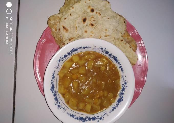 Curry dan parata ala ramadhan