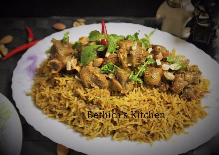 Arabic Lamb Kabsa Recipe By Bethica Das Cookpad