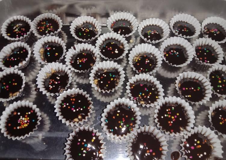 Kue Cokelat Kacang Praktis ala Nat-Nat