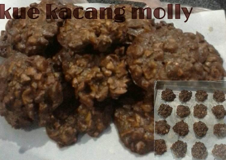 Resep Kue Kacang Molly [ ❌NO Mixer ❌ ] Anti Gagal