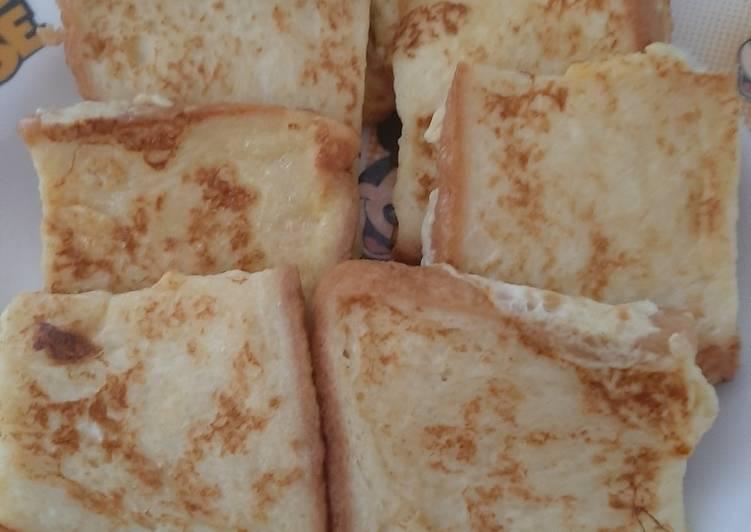 Resep Roti Panggang ala French Toast Paling Mudah
