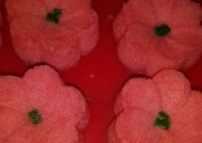 Bagaimana Menyiapkan Bolu nutrisari leci irit,simple&enak Anti Gagal
