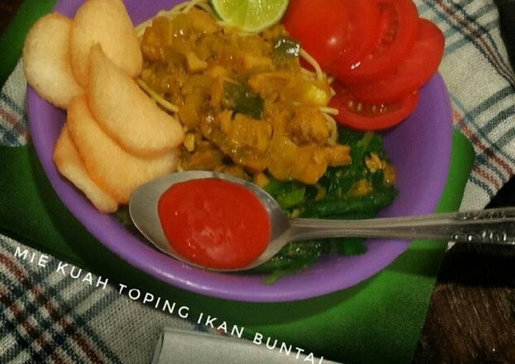 Resep 166 Mie Kuah Topping Ikan Buntal Oleh Dapoer Windha Cookpad
