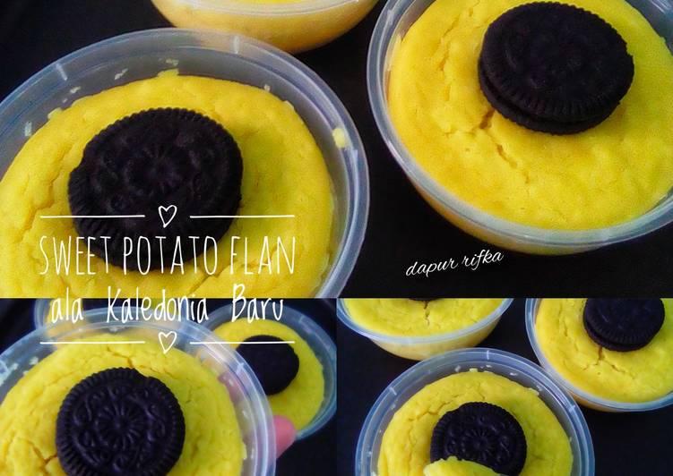 Sweet Potato Flan ala Kaledonia Baru