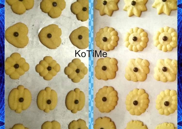 02. Butter cookies