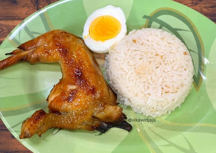 Nasi Hainan Ayam Panggang