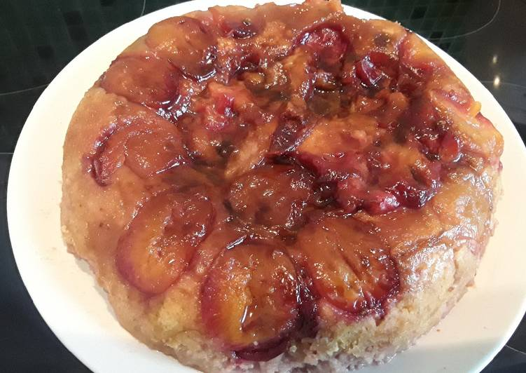 Recipe of Super Quick Homemade Sig's Moist Pan Plum Cake Pudding