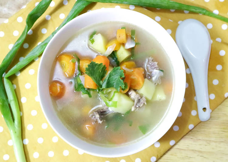 Langkah Mudah untuk Menyiapkan Sayur Sup Ayam Non MSG yang Sempurna