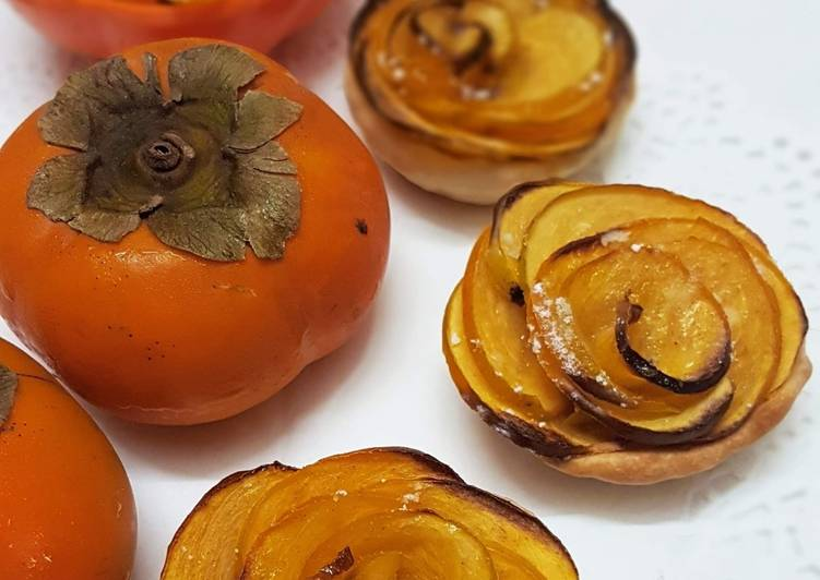 How to Make Quick Persimmon Flower Tarts