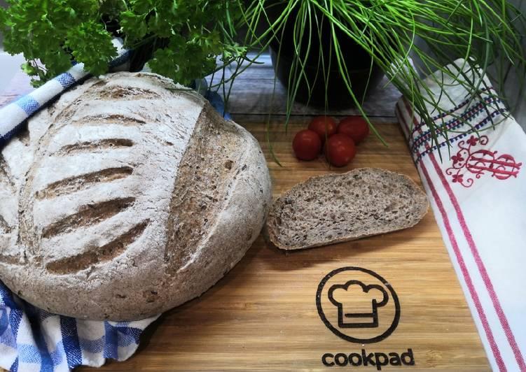 Gluténmentes kenyér chiamaggal recept foto