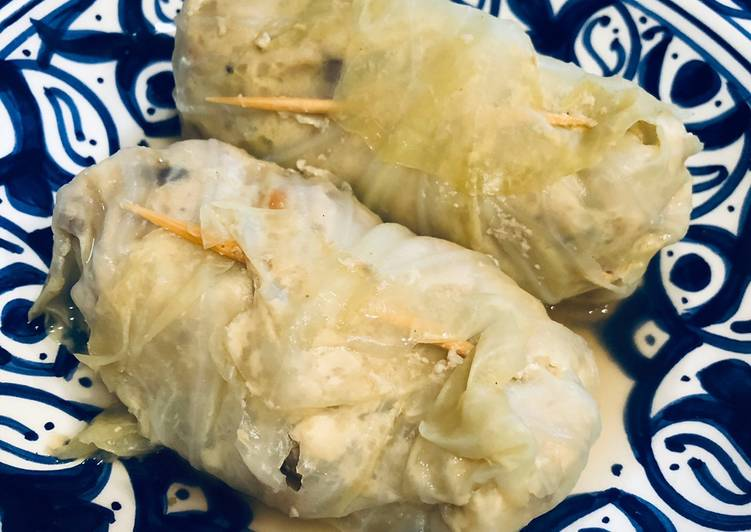 Simple Way to Make Homemade Japanese Cabbage rolls