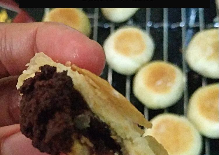 Bakpia coklat teflon