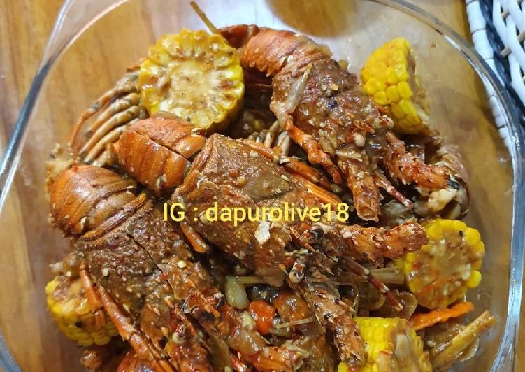 Resep Lobster Blackpaper / Lada Hitam Istimewa