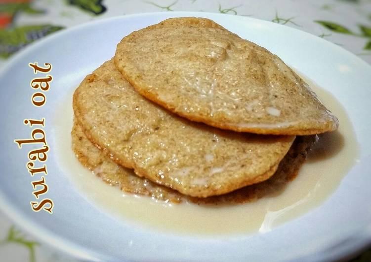 Resep Surabi oat Kuah kinca Anti Gagal