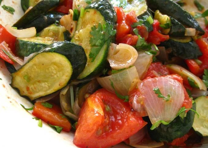 Easy Roasted Vegetable Salad