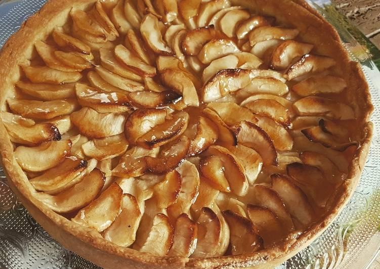 Comment faire Cuire Délicieux Tarte aux pommes