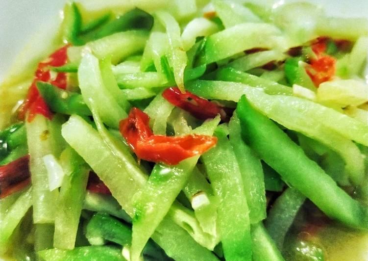 Recipe Appetizing Tumis Labu Siam Pedas Simpel