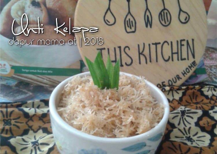 Resep Unti Kelapa (Bisa Untuk Isian Roti Goreng, Bakpao, Dadar Gulung) Bikin Laper