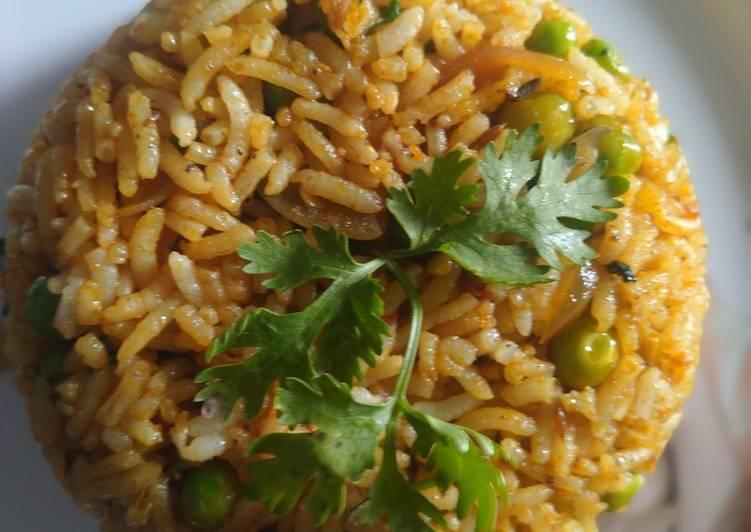 Recipe of Most Popular Masala Grean Peas Pulao