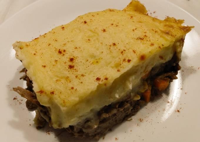 Short rib shepherd's pie