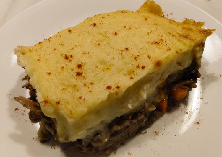Steps to Make Homemade Short rib shepherd's pie