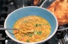 Cà ri đậu lăng (curry lentils)
