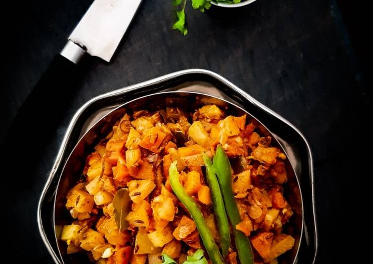 What is Dinner Ideas Diet Perfect Carrot And Potato poriyal