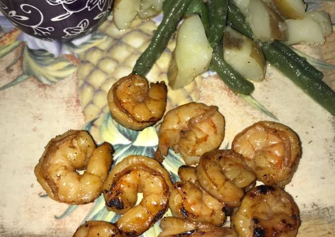Shrimp marinate