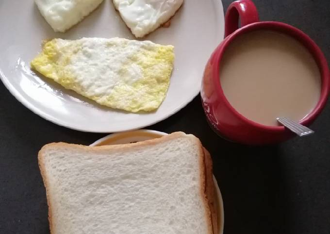 Simple Way to Make Perfect Breakfast Time😊