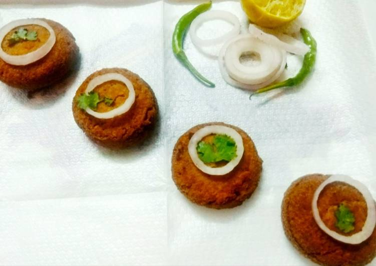 Mutton Shami kebabs - Laurie G Edwards