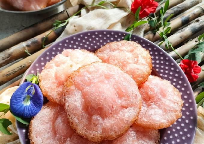 Resep Kue Cucur Pinky (405) yang Lezat