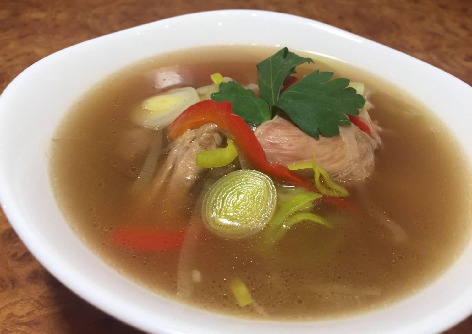 тому же, необычный суп из курицы рецепт с фото неё