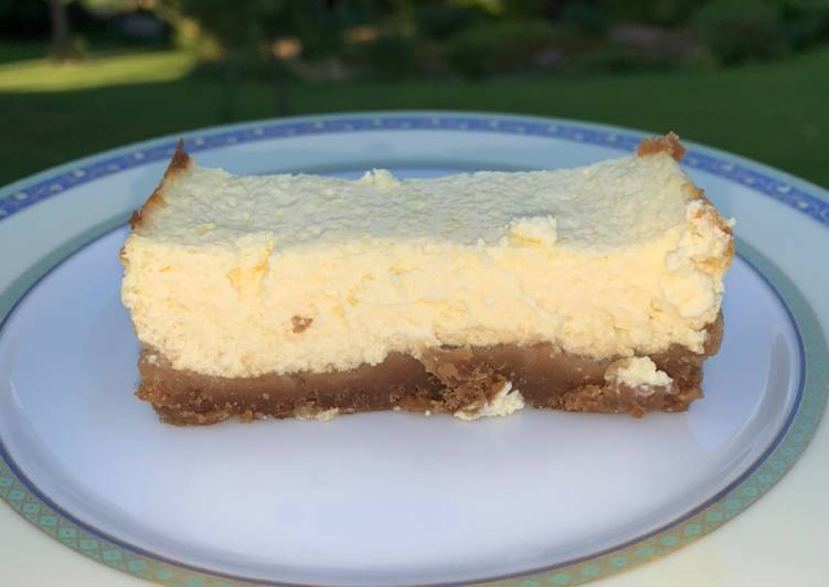 Cheesecake allégé au citron