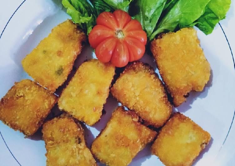 makanan Nugget ayam sayur Jadi, Enak Banget