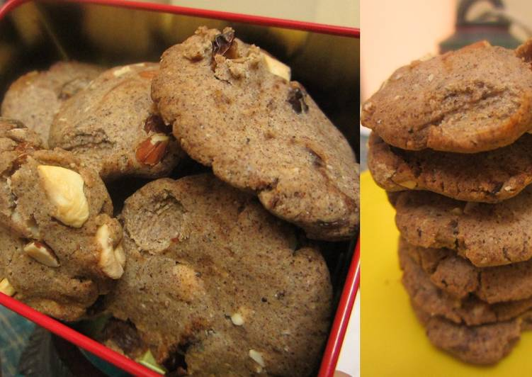 Ragi, Bajra and Wholewheat Shortbread Cookies with Pumpkin Pie Spice