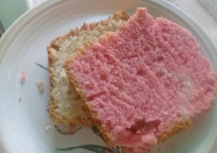 Recipe of Award-winning Two colours sponge cakes