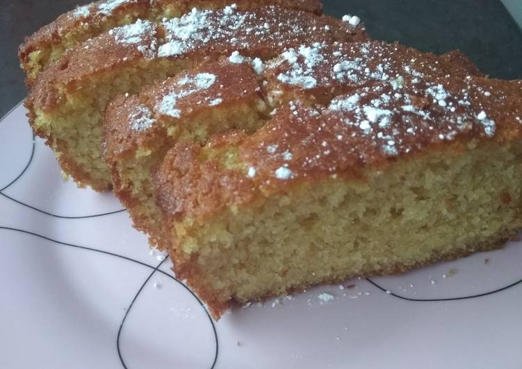 How to Make Super Quick Homemade Maderia loaf