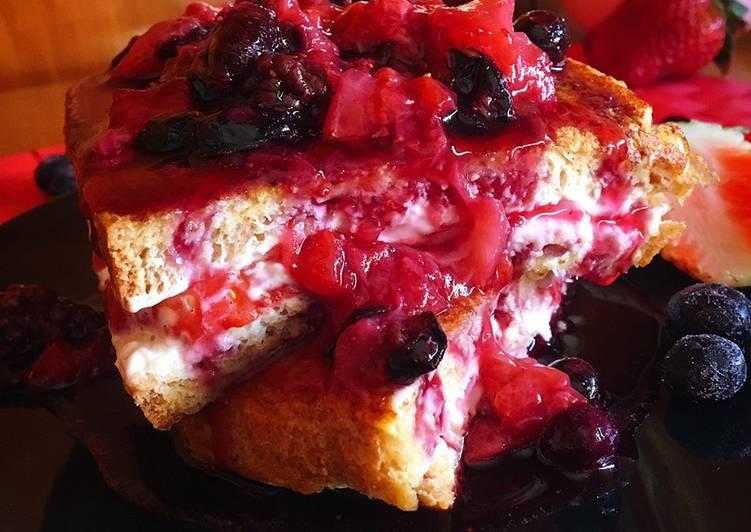 Tostadas francesas Cheesecake
