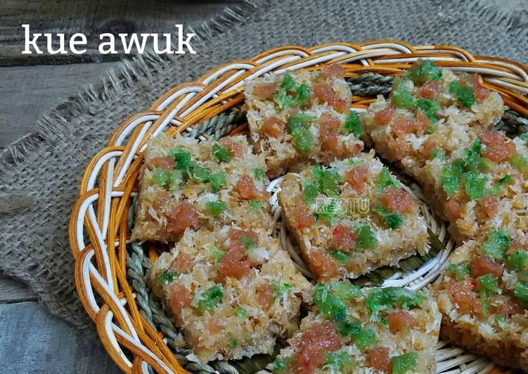 Resep Kue Awuk Hawug Hawug Oleh Rachma Esty Utami Cookpad