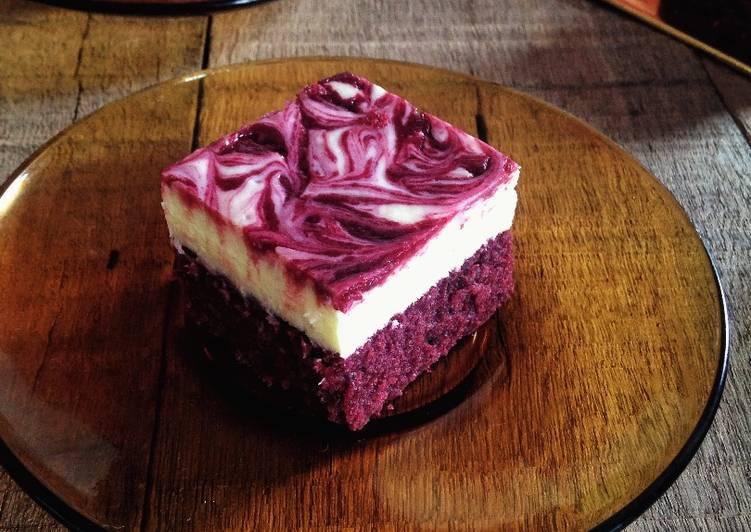 Red Velvet Cheese Brownies (RVCB)