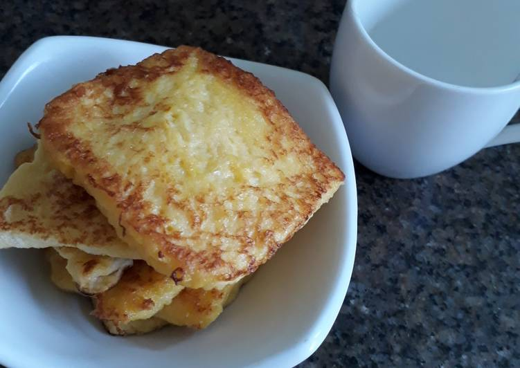 Resep French Toast Sederhana Oleh Ayu Maha Cookpad