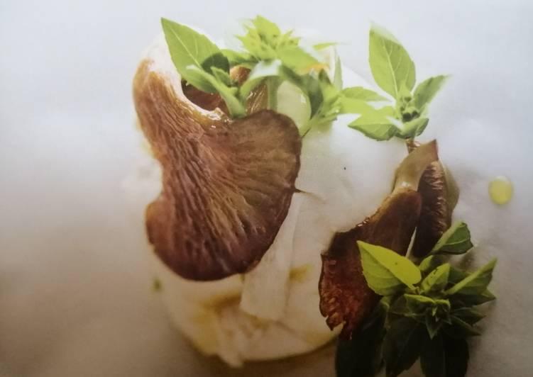 Mozzarella aux Pleurotes