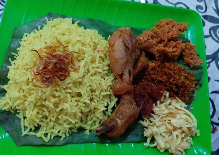 Resep Nasi Kuning Paling Mudah