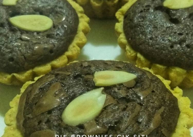 Resep Pie Brownies Pisang simple Bikin Ngiler