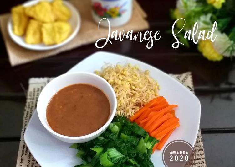 Javanese Salad a.k.a Pecel