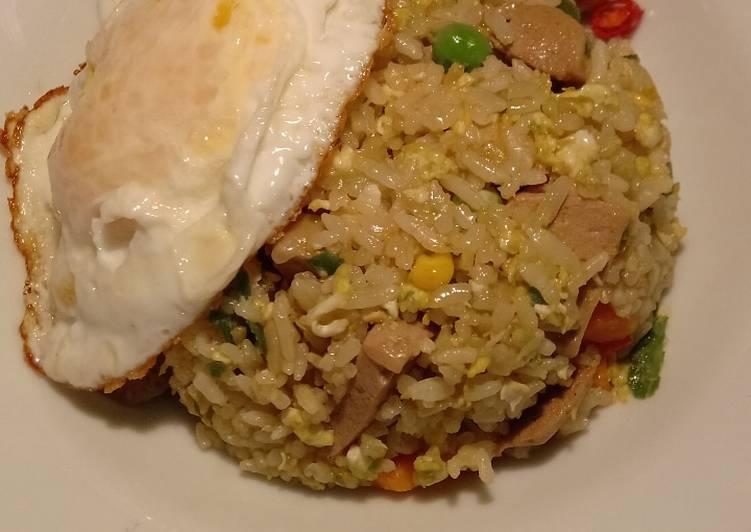 Resep Nasi goreng hongkong simple Super Lezat