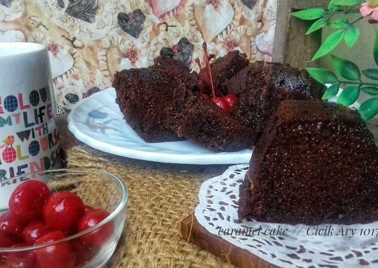 cara masak Bolu Karamel #pr_kuetradisionalberserat - Sajian Dapur Bunda