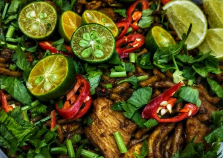 Resepi:  Mee goreng mamak #chefzam Simple